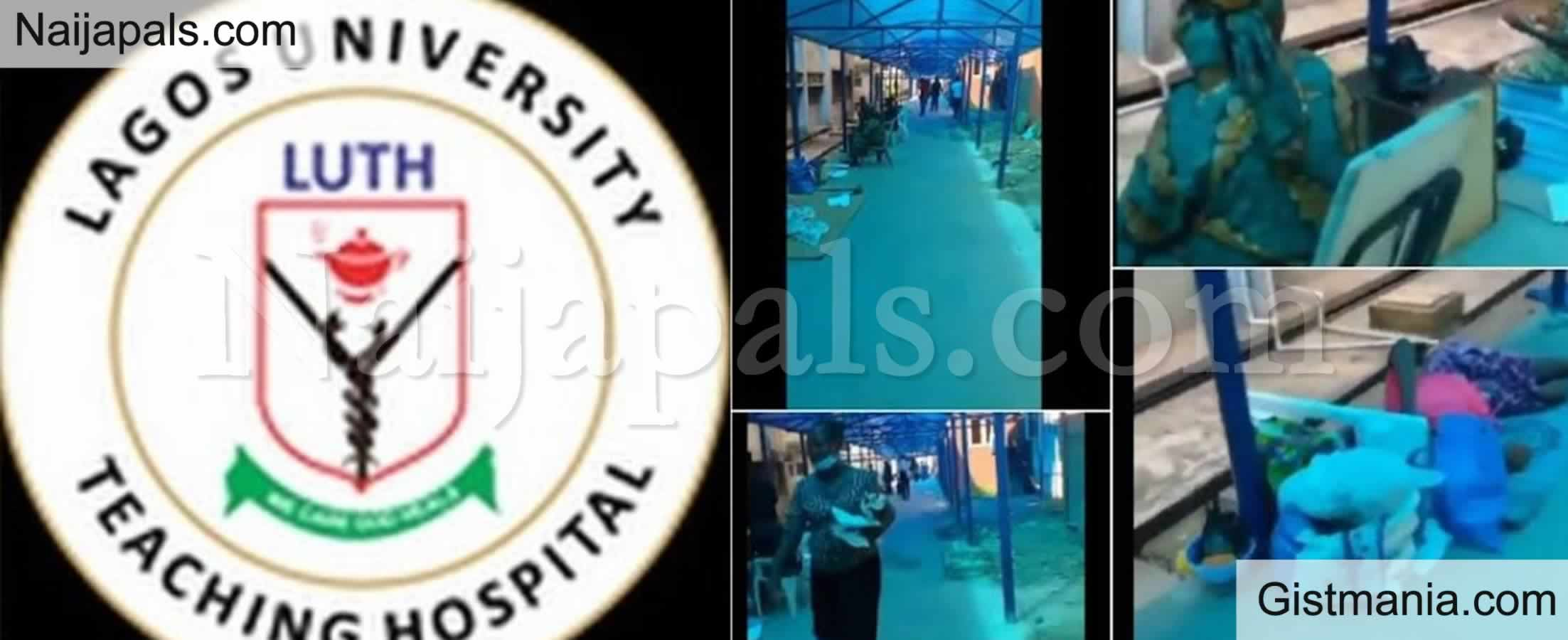 <img alt='.' class='lazyload' data-src='https://img.gistmania.com/emot/comment.gif' /> <b>LUTH Reacts To Viral Video Showing Nursing Mothers And Their Babies Made to Sleep on Floors</b>