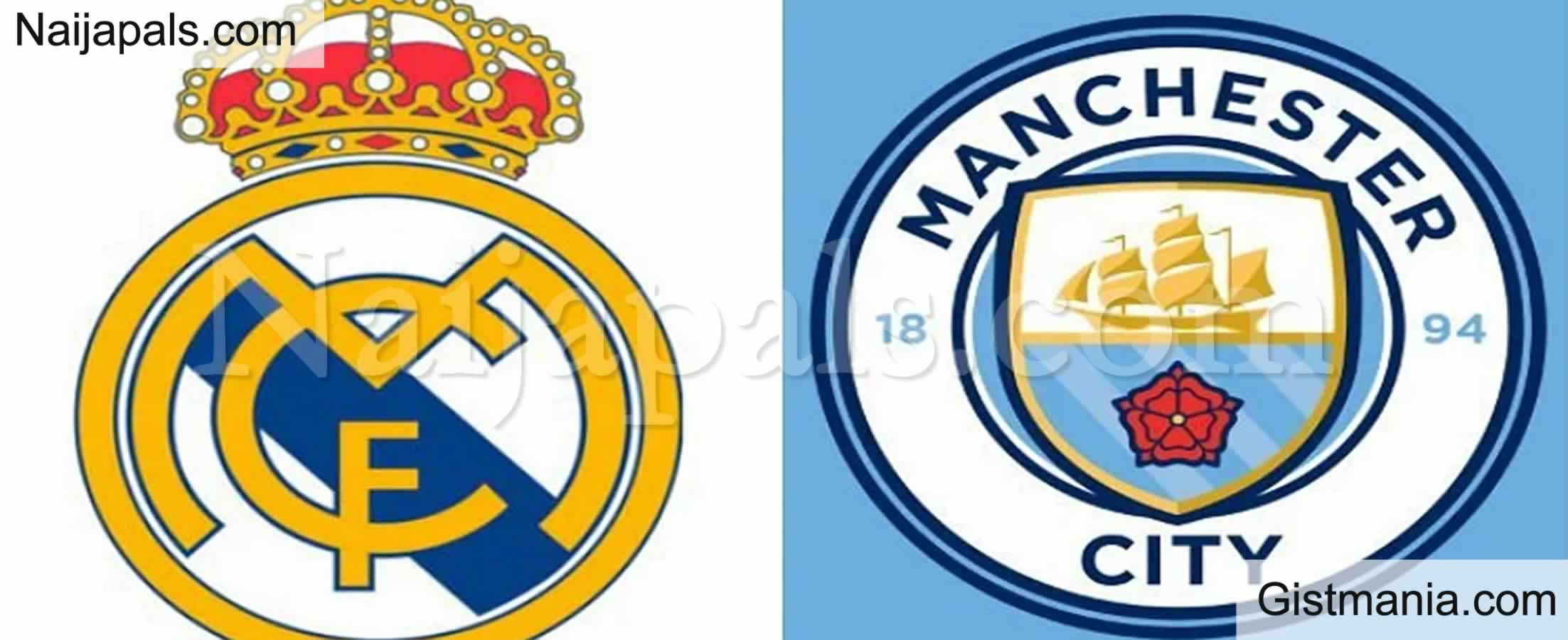 <img alt='.' class='lazyload' data-src='https://img.gistmania.com/emot/soccer.gif' /> <b>Manchester City v Real Madrid : UEFA Champions League Match, Team News, Goal Scorers and Stats</b>