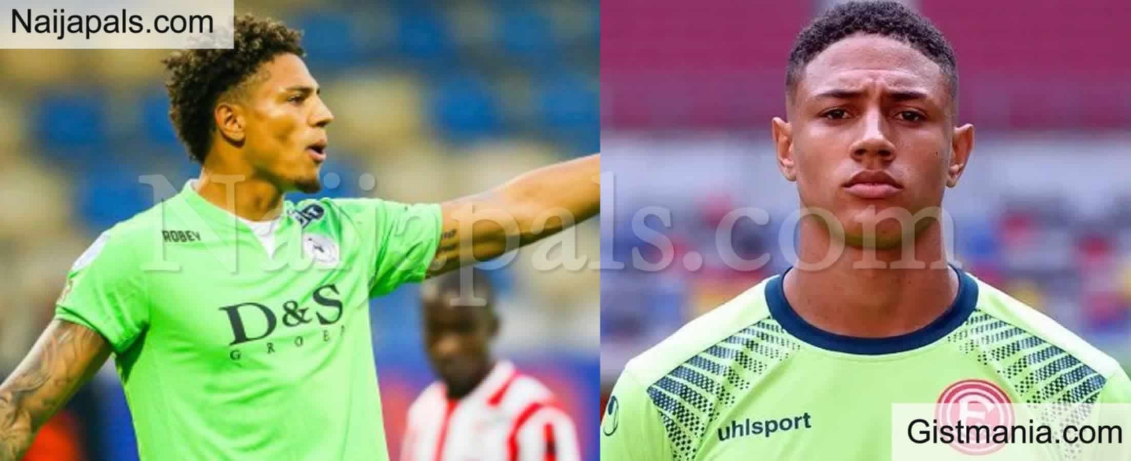 <img alt='.' class='lazyload' data-src='https://img.gistmania.com/emot/soccer.gif' /> SPORT: <b>Super Eagle Goalkeeper, Maduka Okoye To Join Eredivisie Team Of The Season</b>