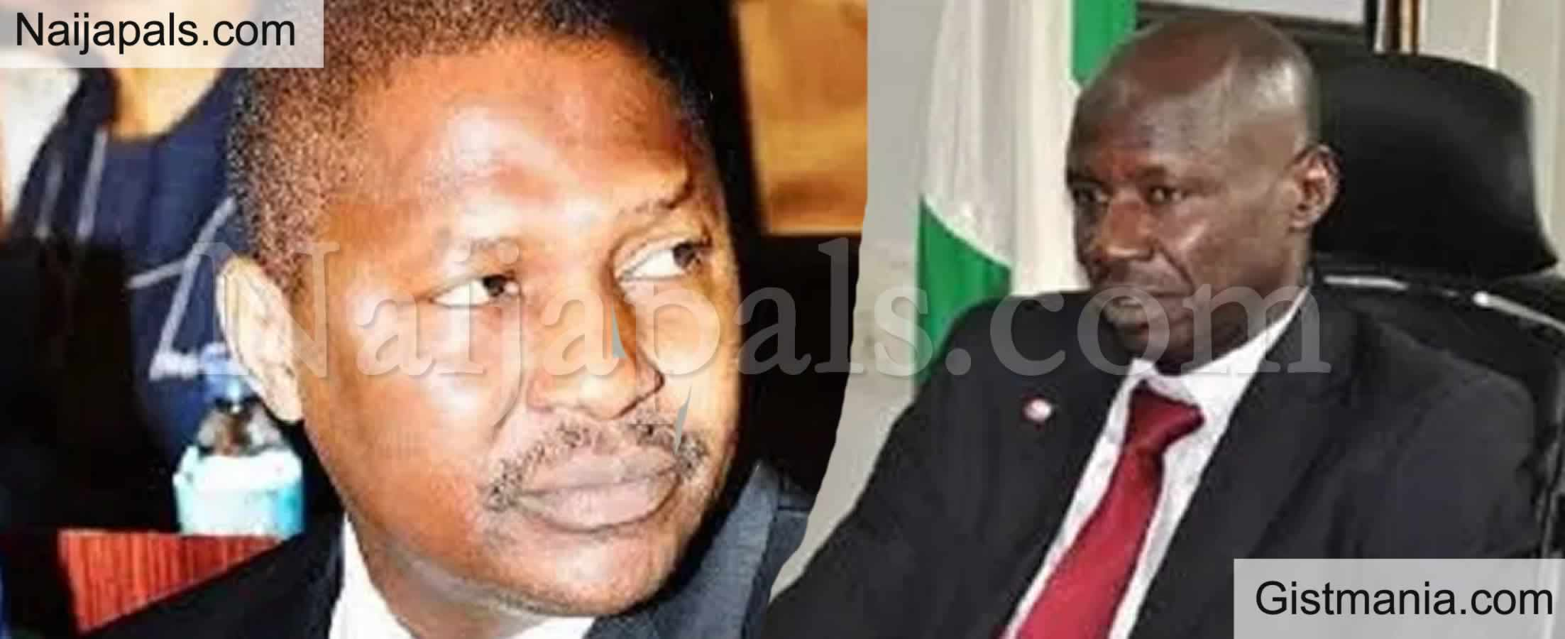 <img alt='.' class='lazyload' data-src='https://img.gistmania.com/emot/news.gif' /> JUST IN: <b>DSS Debunks News That EFFC Chairman, Ibrahim Magu Has Being Arrested</b>