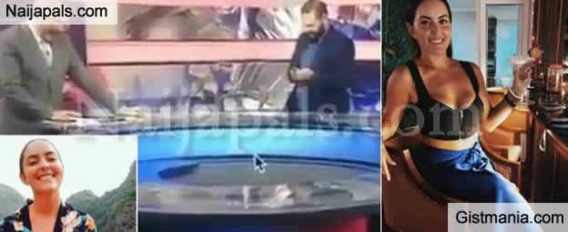 Male TV Presenters Caught Talking About Female Reporter's Br3ast in