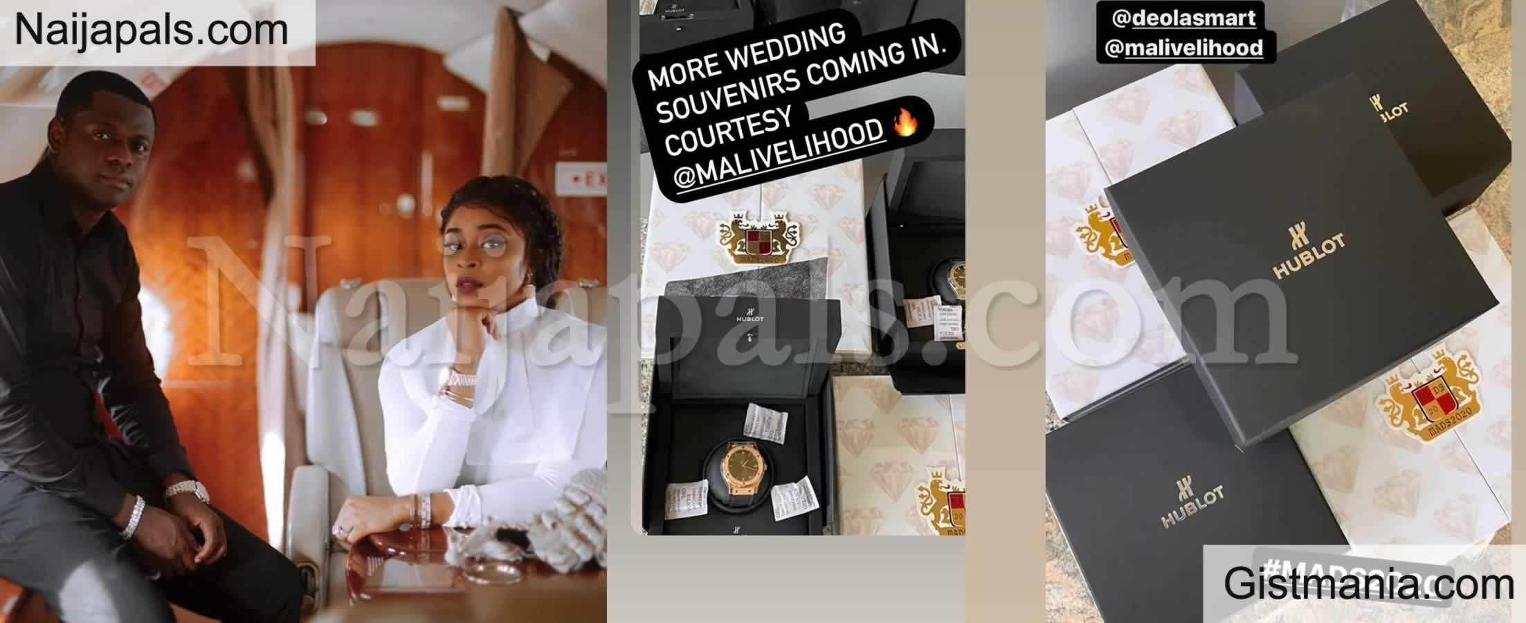 <img alt='.' class='lazyload' data-src='https://img.gistmania.com/emot/video.gif' /> <b>Tonto Dikeh's Ex, Malivelihood, is Giving N4m Worth Hublot Watches as Souvenirs at His Wedding</b>