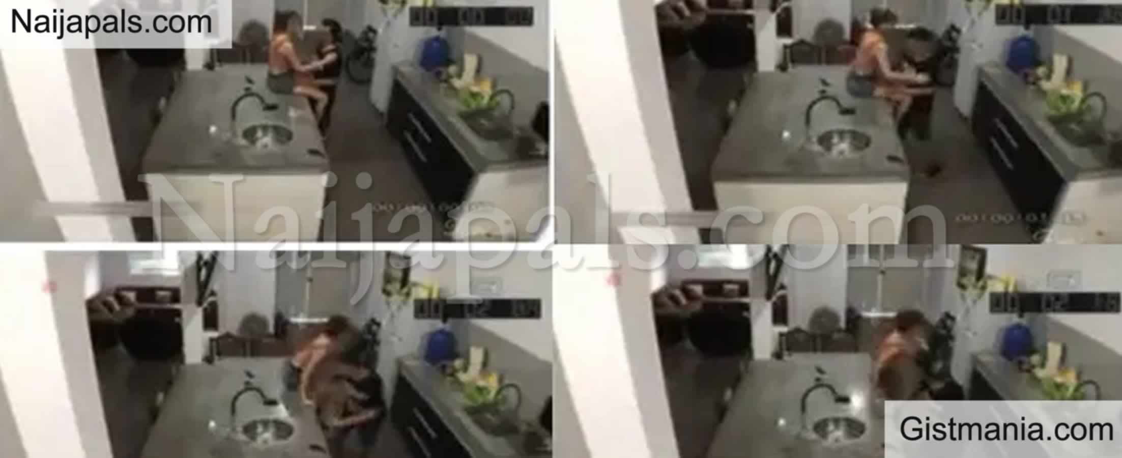 <img alt='.' class='lazyload' data-src='https://img.gistmania.com/emot/video.gif' /> Close Shave: M<b>an Narrowly Escapes From Lover's House As Husband Arrives Unexpectedly</b> (VIDEO)
