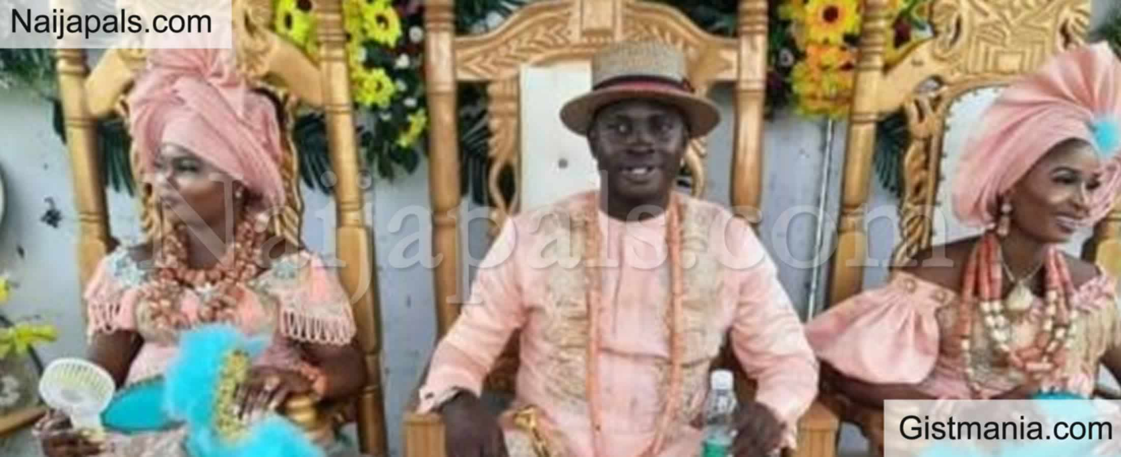 <img alt='.' class='lazyload' data-src='https://img.gistmania.com/emot/photo.png' /> <b>Photos From The Wedding Of The Nigerian Man Who Wedded Two Women On The Same Day</b>