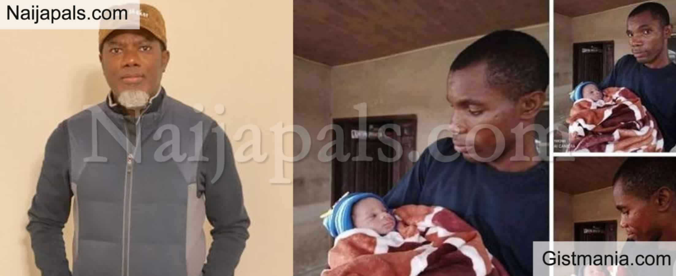 <img alt='.' class='lazyload' data-src='https://img.gistmania.com/emot/comment.gif' /> PHOTOS: <b>Reno Omokiri Vows To Bless Man Who Named His Baby After Him</b>