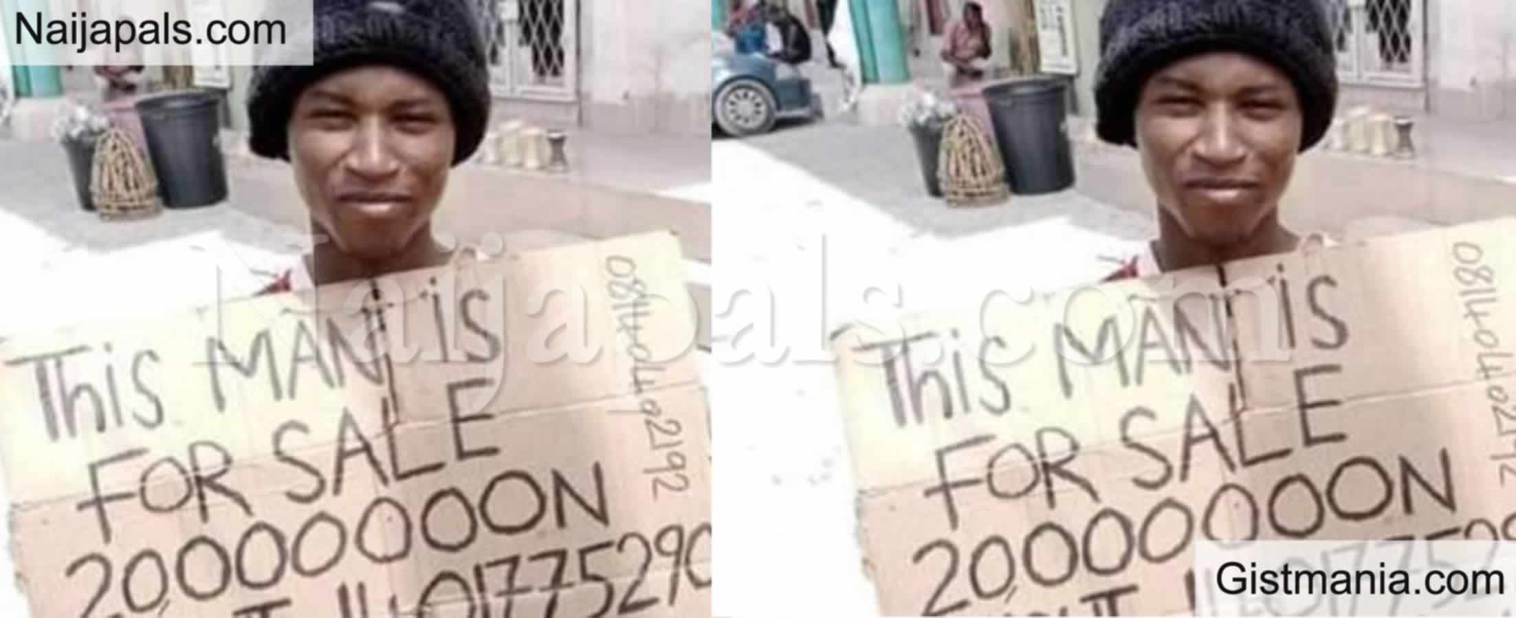 <img alt='.' class='lazyload' data-src='https://img.gistmania.com/emot/video.gif' /> <b>Hisbah Police Arrests Man Who Put Himself Up For Sale For N20m </b>In Kano (VIDEO)