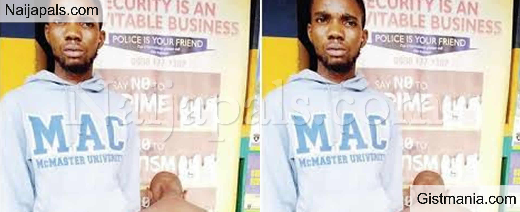 <img alt='.' class='lazyload' data-src='https://img.gistmania.com/emot/comment.gif' /> <b>24Yrs Badmus Folarin Arrested For Using Hot Knife To Inflict Injury On A Boy's Buttocks In Ogun</b>