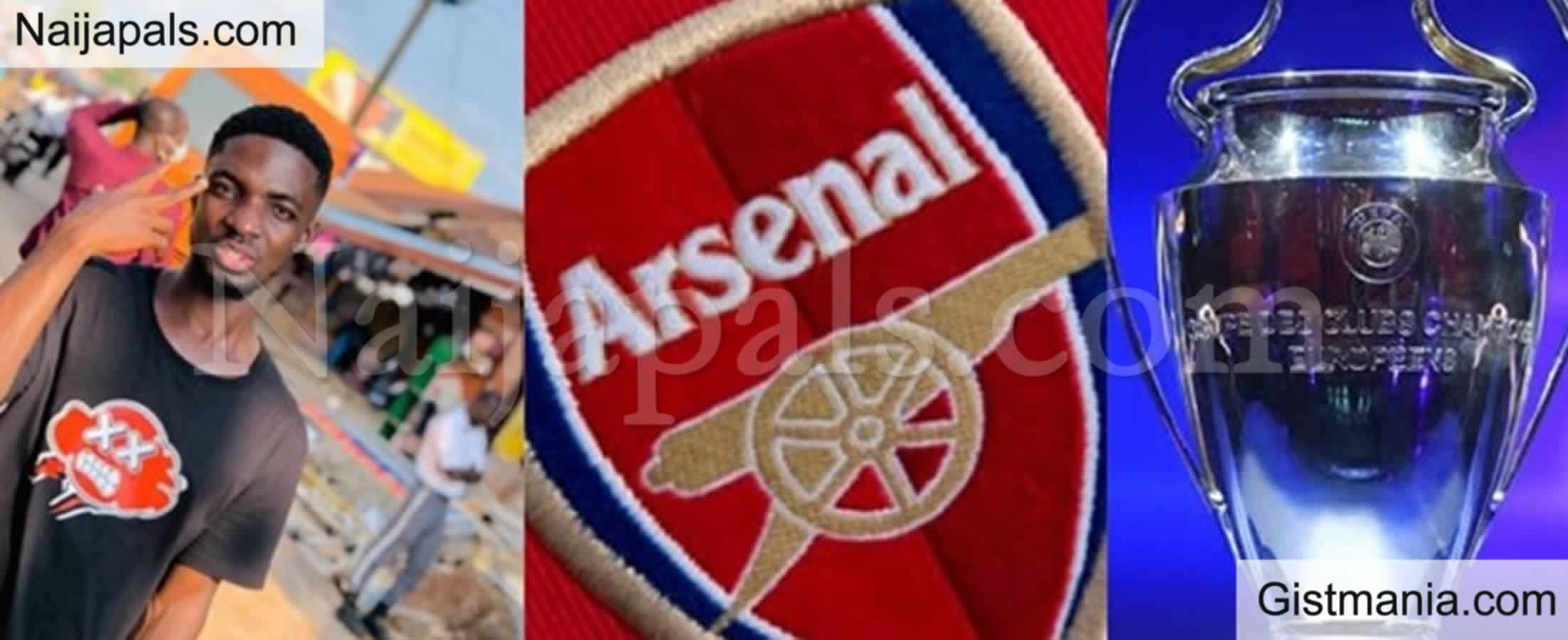 <img alt='.' class='lazyload' data-src='https://img.gistmania.com/emot/grin.gif' /> LMAO!<b> Young Nigerian Man Vows Not To Get Married Until Arsenal Wins The Champion League</b>