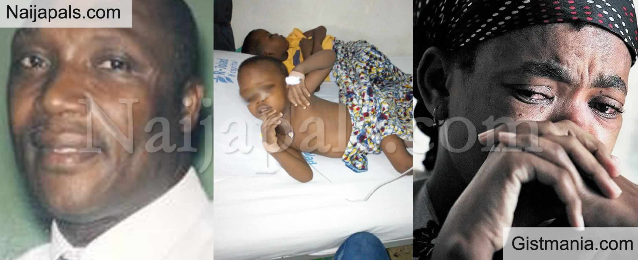 <img alt='.' class='lazyload' data-src='https://img.gistmania.com/emot/broken_heart.gif' /> <b>Nigerian Man, Felix Iluobe Abandons Wife With Sickle-Cell Kids After Lying About His Gentoype</b>