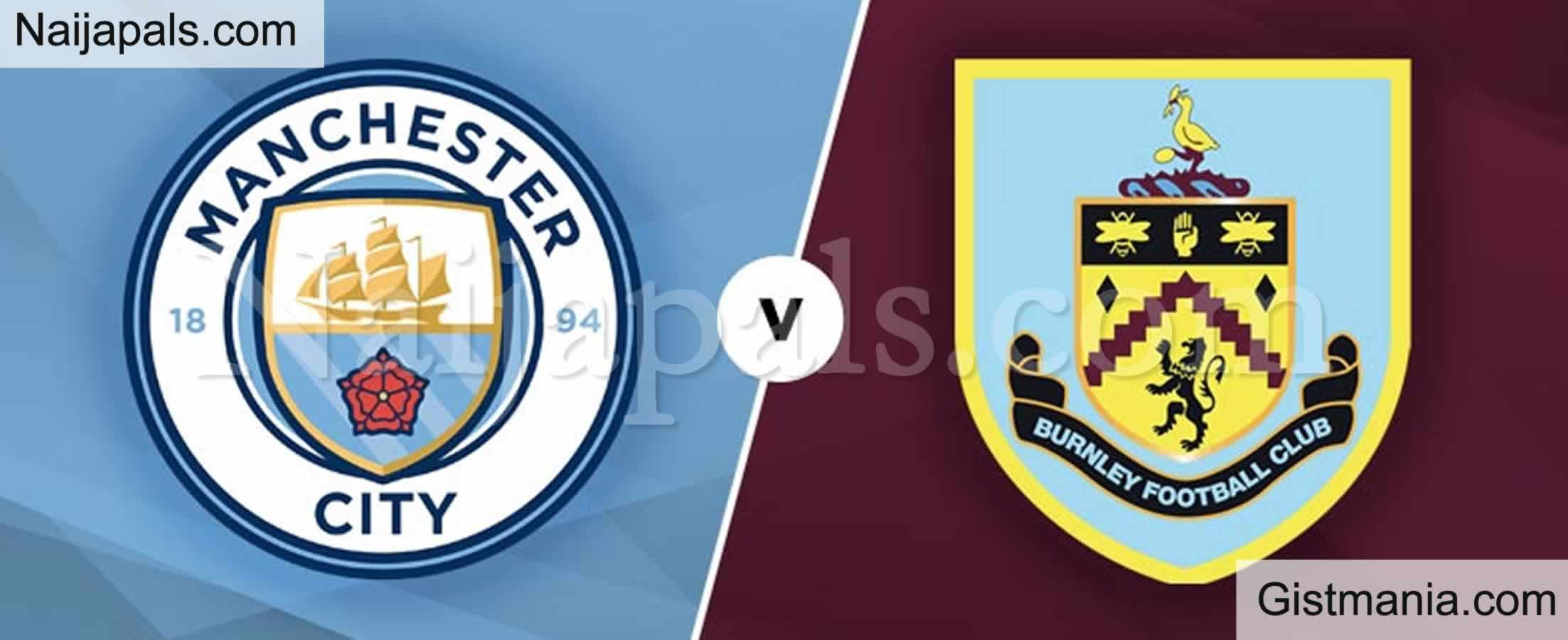 <img alt='.' class='lazyload' data-src='https://img.gistmania.com/emot/soccer.gif' /> <b>Manchester City v Burnley : English Premier League Match, Team News, Goal Scorers and Stats</b>
