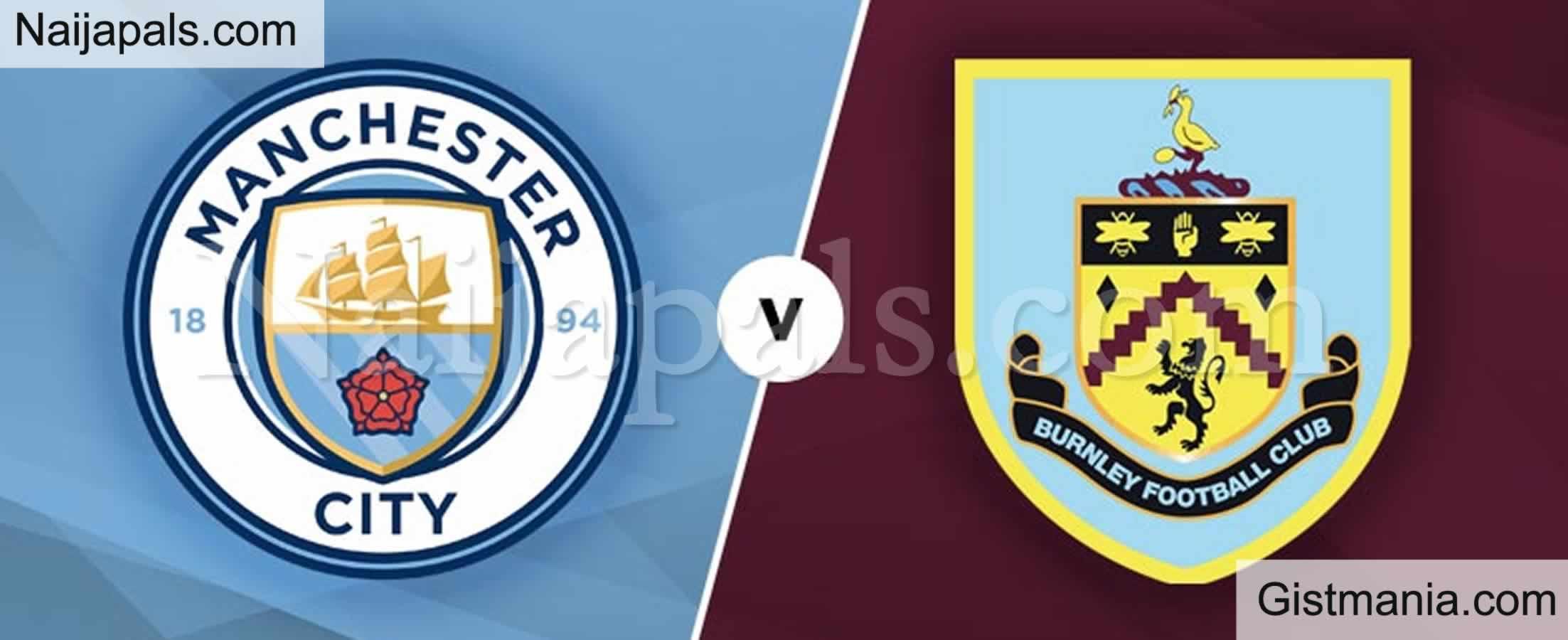 <img alt='.' class='lazyload' data-src='https://img.gistmania.com/emot/soccer.gif' /> <b>Manchester City v Burnley : English Premier League Match, Team News, Goal Scorers and Stats</b>