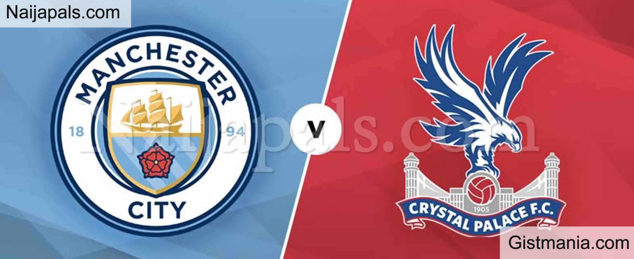 <img alt='.' class='lazyload' data-src='https://img.gistmania.com/emot/soccer.gif' /> <b>Manchester City v Palace : English Premier League Match, Team News, Goal Scorers and Stats</b>