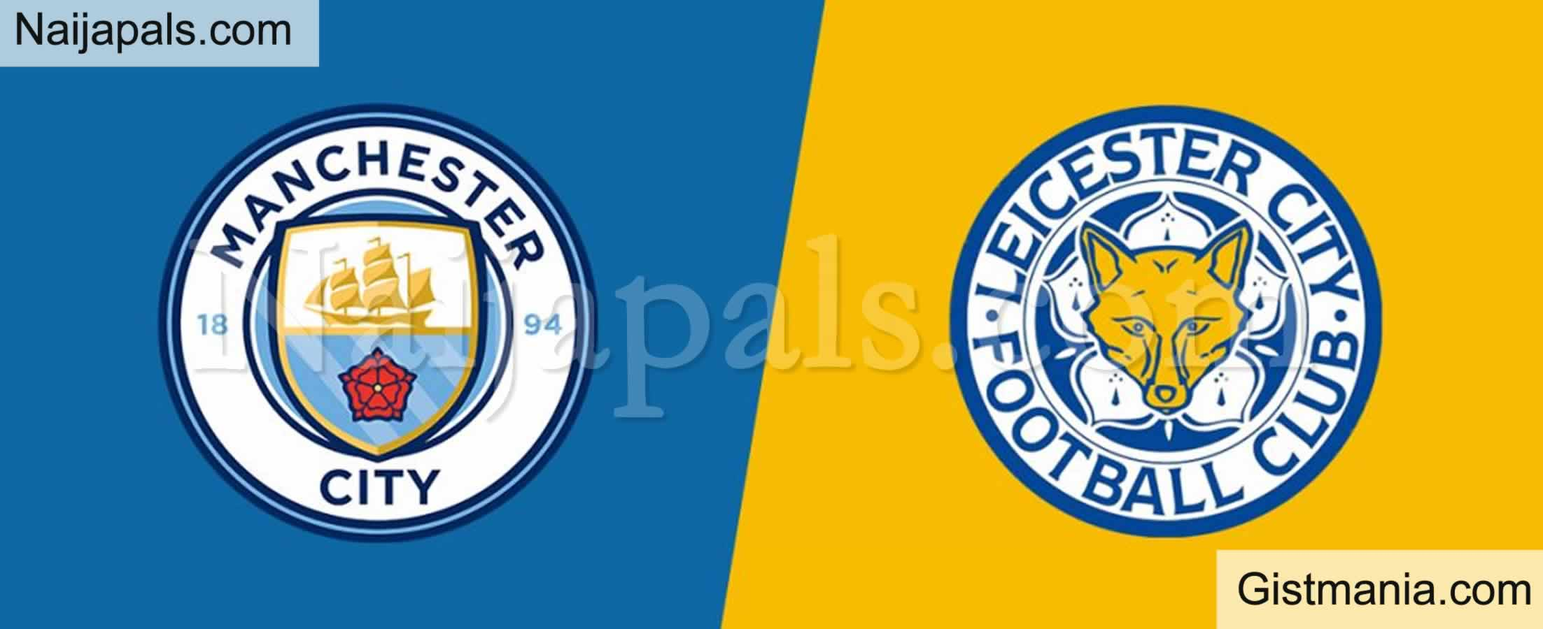 <img alt='.' class='lazyload' data-src='https://img.gistmania.com/emot/soccer.gif' /> <b>Manchester City v Leicester : English Premier League Match, Team News, Goal Scorers and Stats</b>
