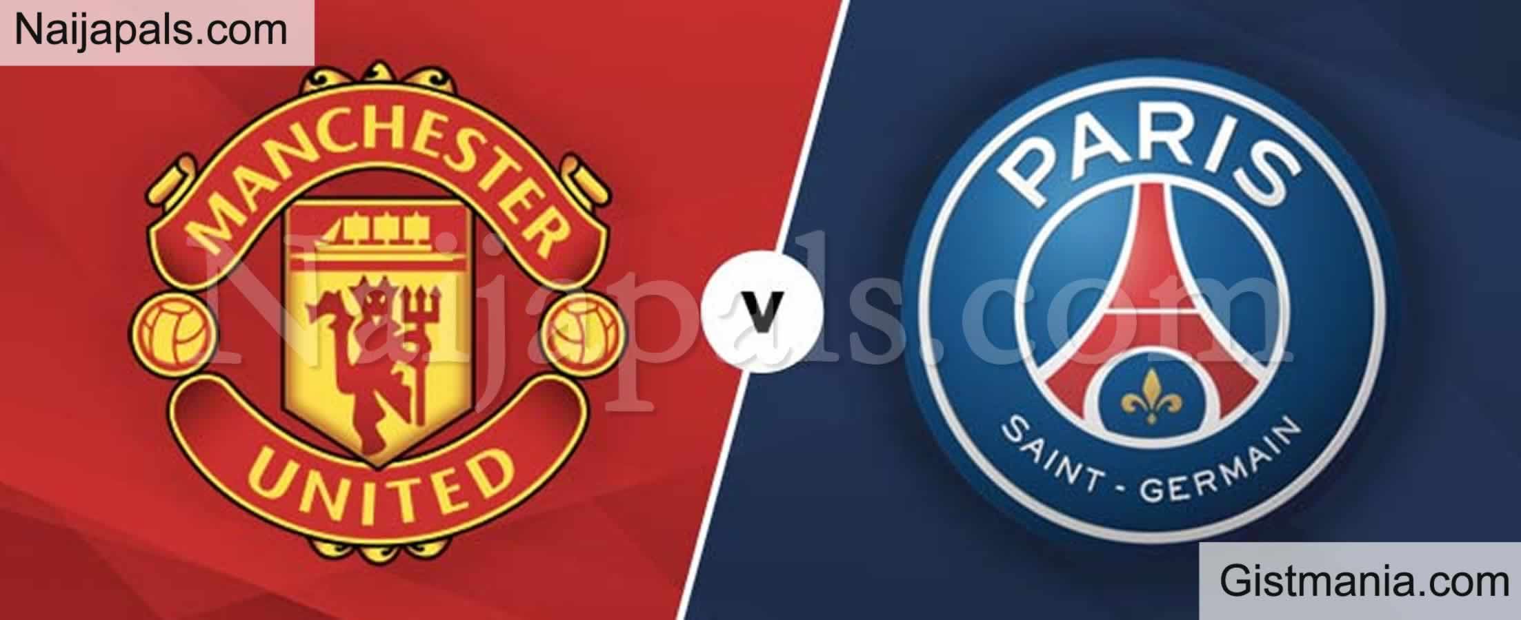 <img alt='.' class='lazyload' data-src='https://img.gistmania.com/emot/soccer.gif' /> <b>Manchester United v PSG : UEFA Champions League Match, Team News, Goal Scorers and Stats</b>
