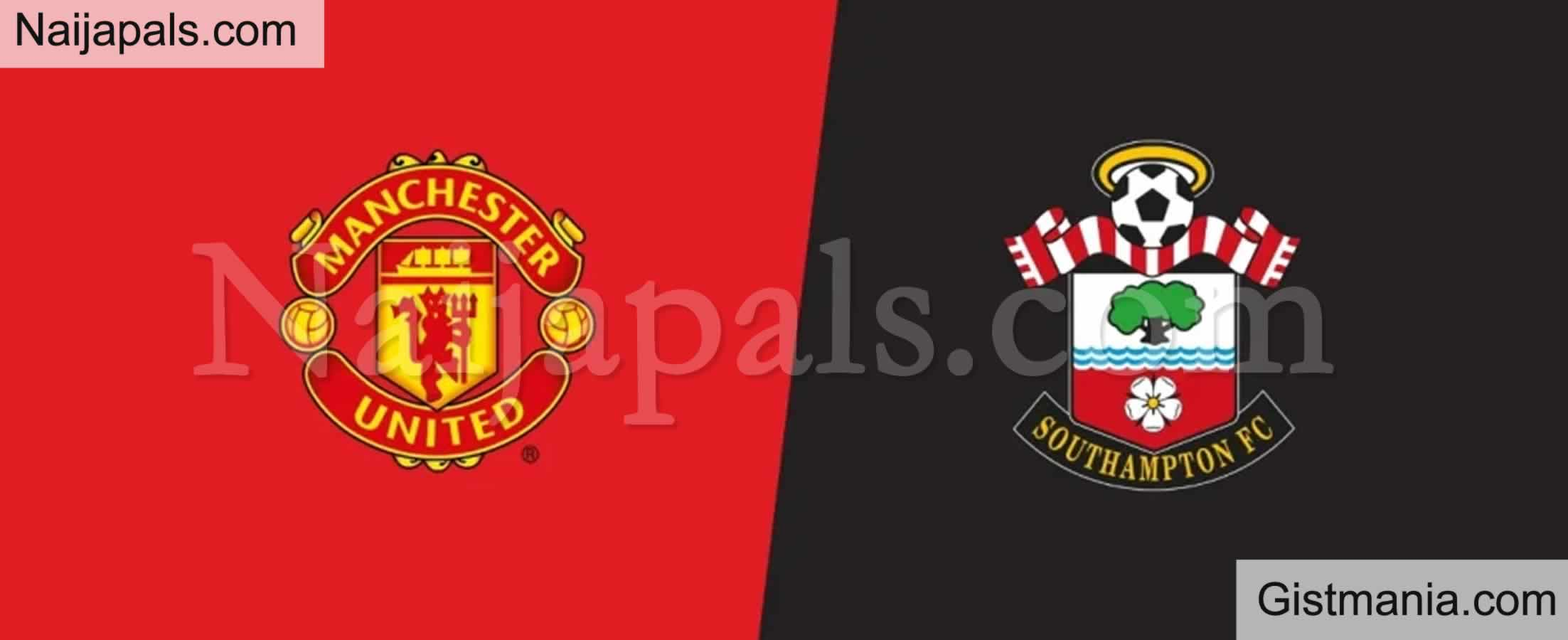 <img alt='.' class='lazyload' data-src='https://img.gistmania.com/emot/soccer.gif' /> <b>Manchester v Southampton : English Premier League Match, Team News, Goal Scorers and Stats</b>