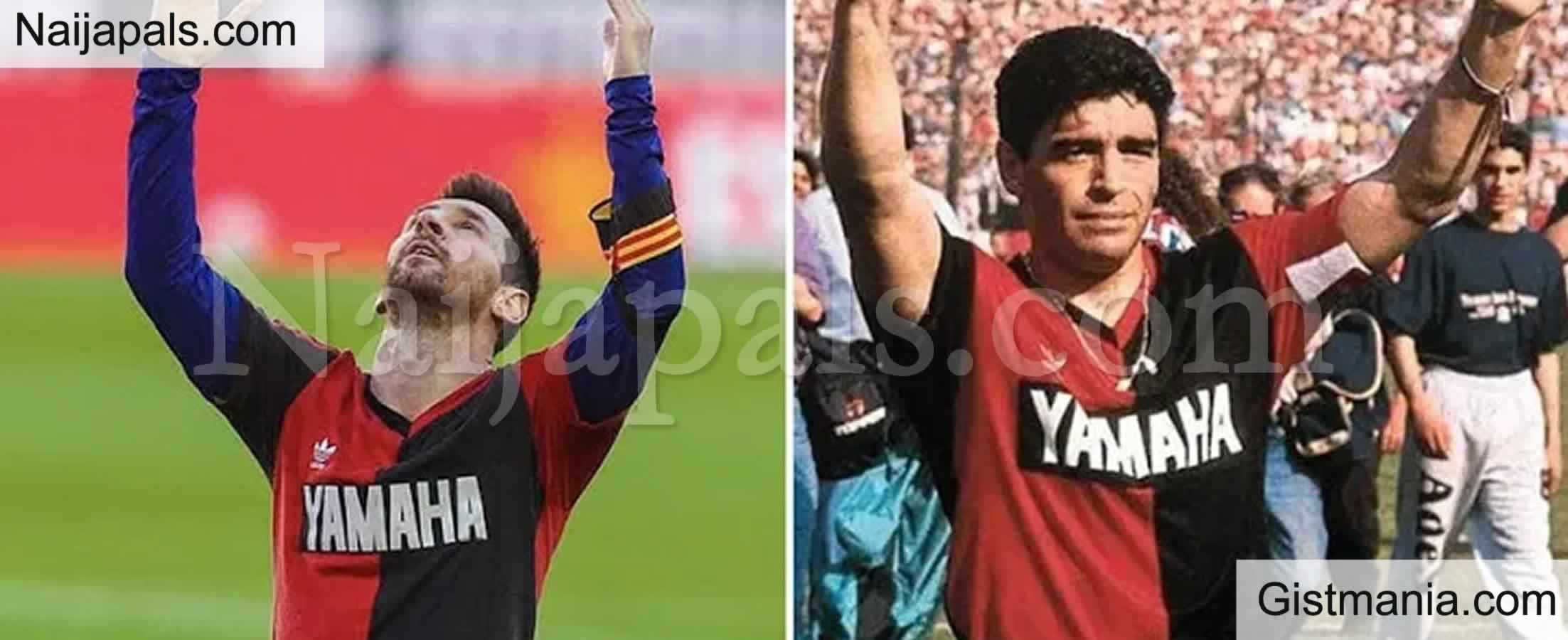 <img alt='.' class='lazyload' data-src='https://img.gistmania.com/emot/news.gif' /> <b>Maradona's Son Tells Messi To Retire The No 10 Shirt</b>