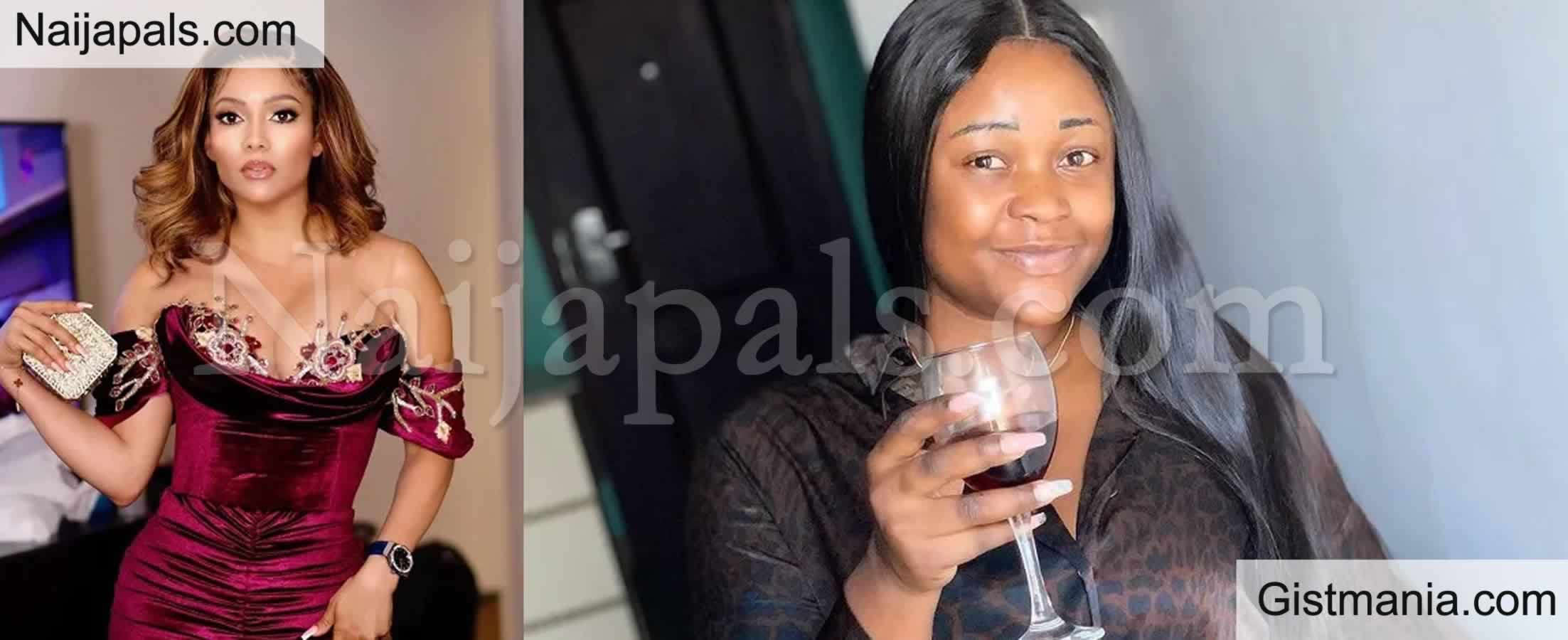 <img alt='.' class='lazyload' data-src='https://img.gistmania.com/emot/comment.gif' /> <b>After Snatching Her Husband, You Have The Guts to Threaten Her</b> - Actress, Iheme Nancy Blasts Maria