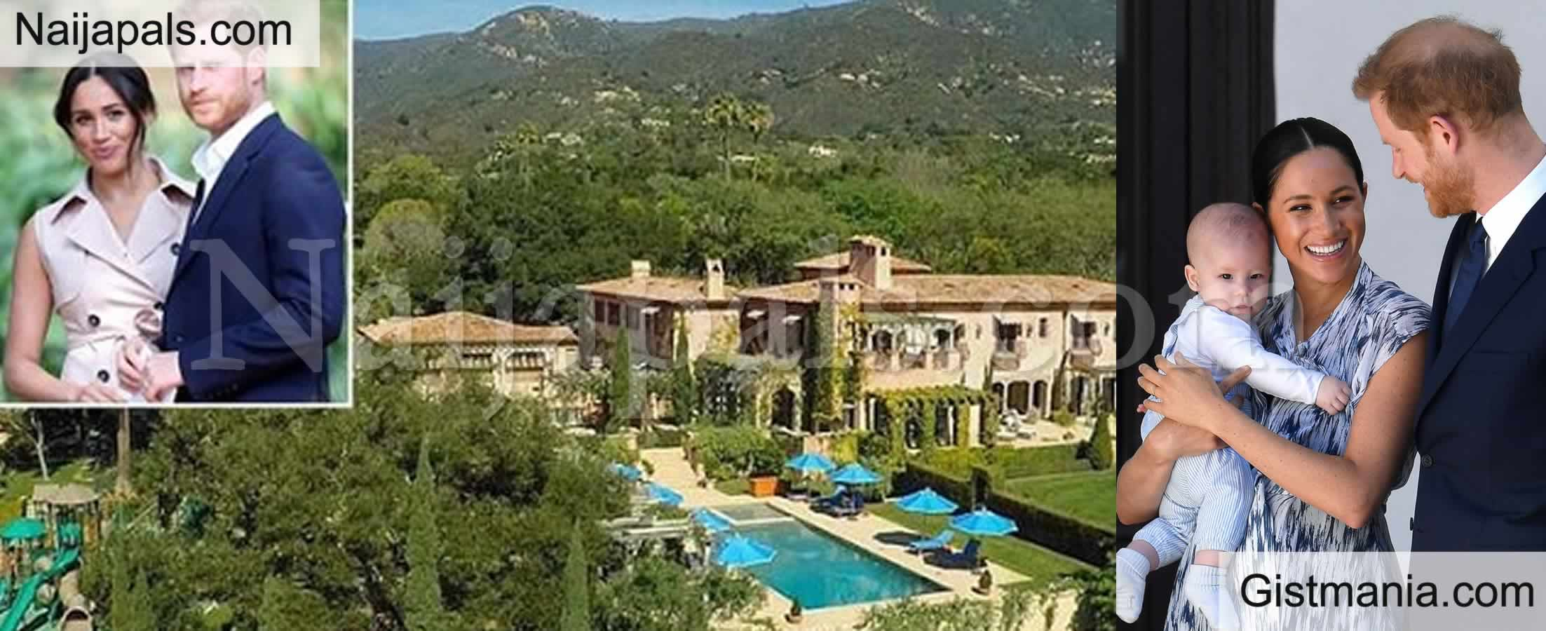 <img alt='.' class='lazyload' data-src='https://img.gistmania.com/emot/photo.png' /> <b>Photos of Harry and Meghan Markle's Sprawling New Los Angeles Mansion Worth $14.7m</b>