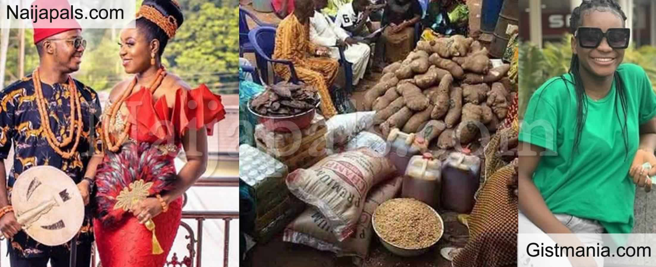 <img alt='.' class='lazyload' data-src='https://img.gistmania.com/emot/comment.gif' /> <b>Lady Berates Igbo Bride Price As She Shares Marriage List From Benue Which is Less Than N50k</b>