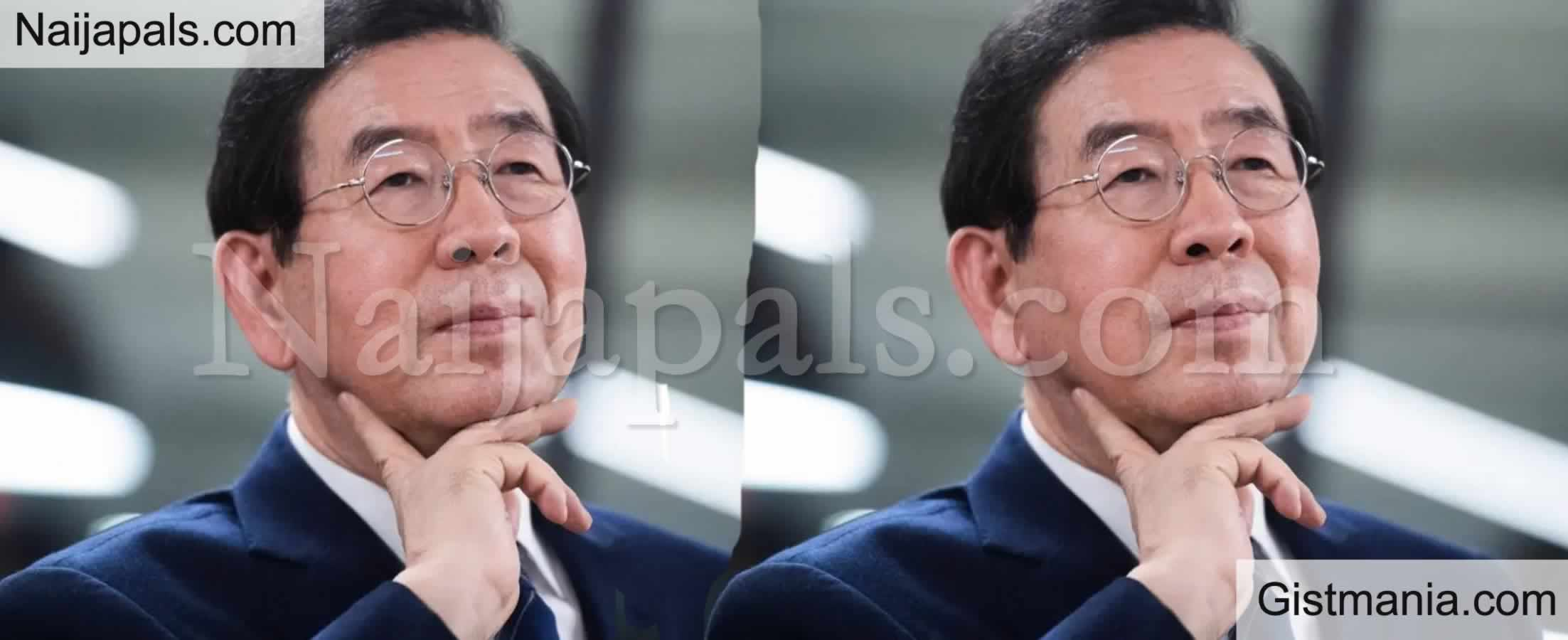<img alt='.' class='lazyload' data-src='https://img.gistmania.com/emot/cry.gif' /> <b>Mayor Of Seoul,Park Won-soon In The Midst Of Sex Saga Found Dead After Declared Missing Earlier</b>