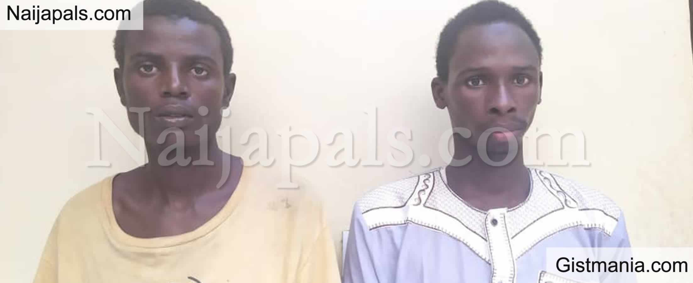 <img alt='.' class='lazyload' data-src='https://img.gistmania.com/emot/shocked.gif' /> <b>Kano Police Arrest 2 Suspected Kidnappers, Rescue 3Yrs Old Relative After Demanding N10m Ransom</b>