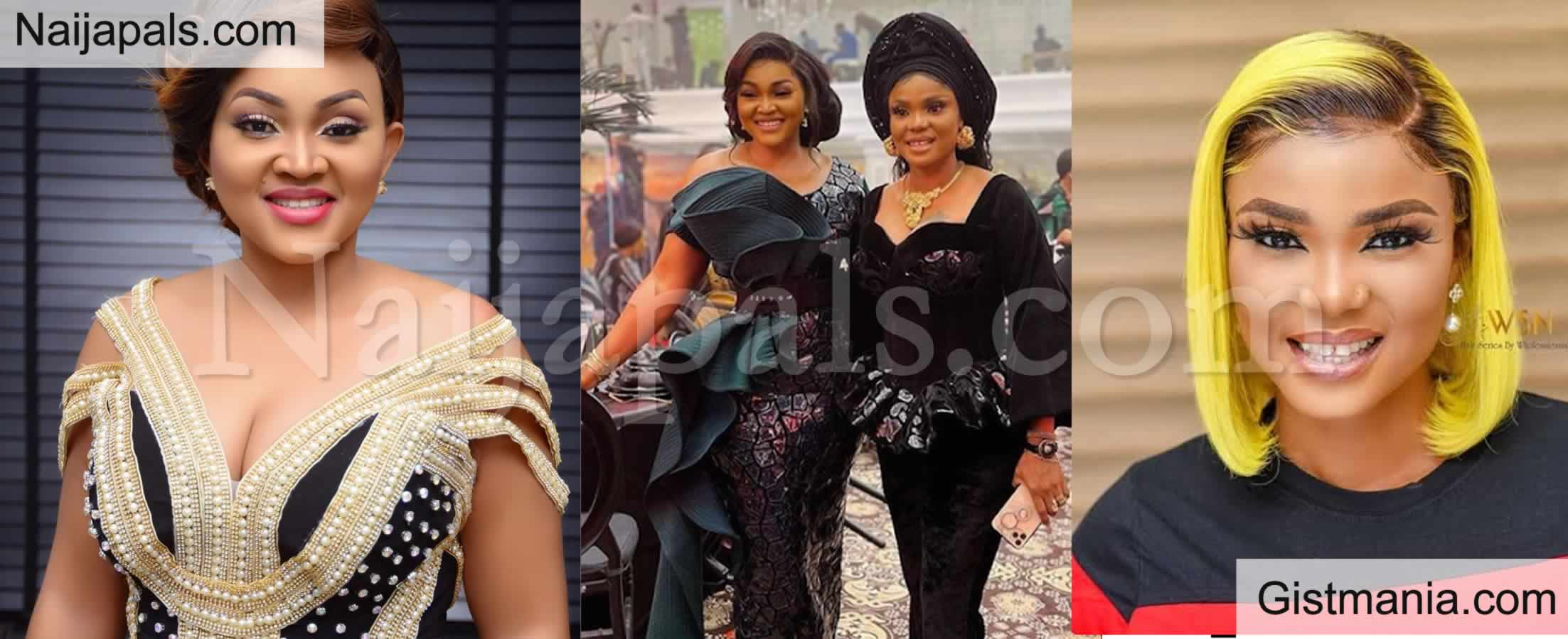 <img alt='.' class='lazyload' data-src='https://img.gistmania.com/emot/comment.gif' /> <b>Iyabo Ojo And Mercy Aigbe Reportedly Unfollow Each Other On Instagram Days After Rift Settled</b>