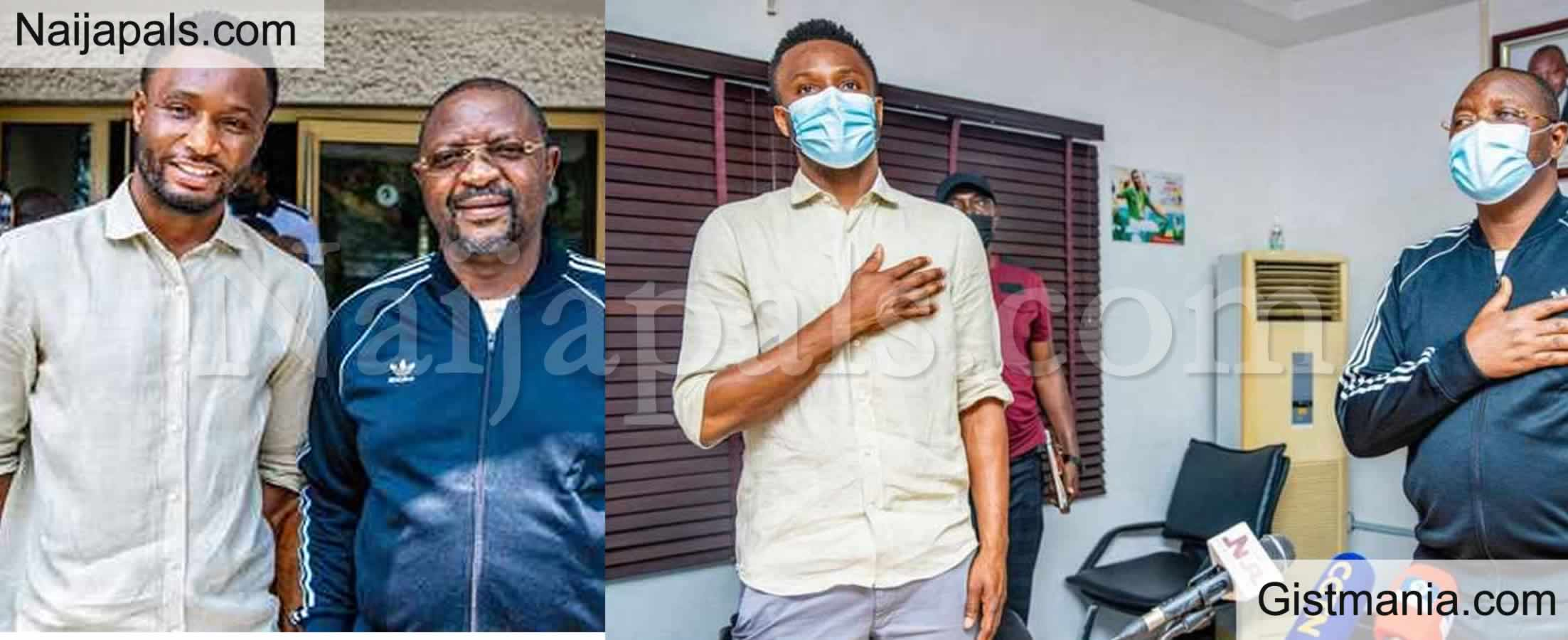 <img alt='.' class='lazyload' data-src='https://img.gistmania.com/emot/news.gif' /> <b>Ex Super Eagles Player, Mikel Obi Given a New Appointment By Nigeria Government</b> (Photos)