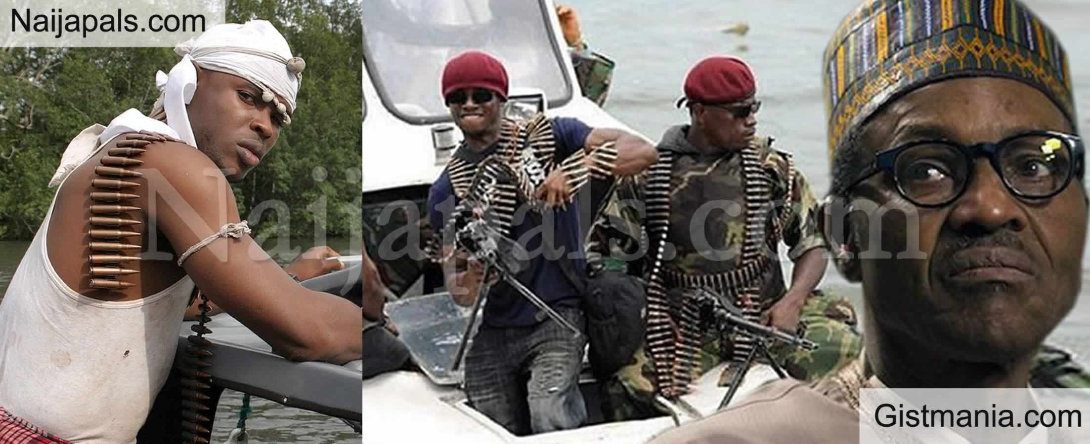 <img alt='.' class='lazyload' data-src='https://img.gistmania.com/emot/video.gif' /> #EndSARS: <b>Niger-Delta Militants Have a Stern Message For the Nigerian Leaders</b> (Video)