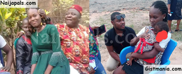 Former Child Bride In Anambra State, Chikwendu Returns To School (Photos)