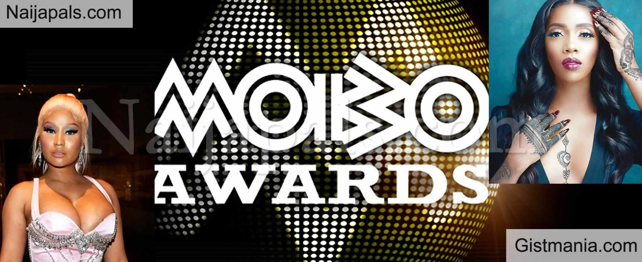 <img alt='.' class='lazyload' data-src='https://img.gistmania.com/emot/comment.gif' /> <b>Tiwa Savage, Nicki Minaj, Rema Make Nomination List For The 2020 MOBO Awards</b>
