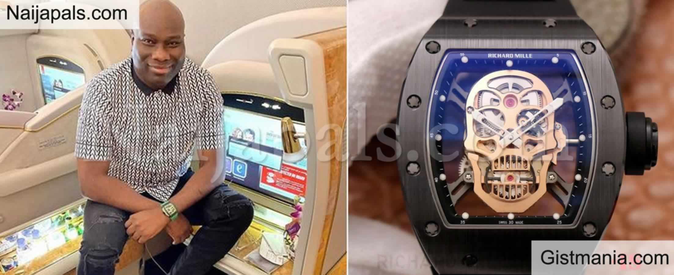 <img alt='.' class='lazyload' data-src='https://img.gistmania.com/emot/grin.gif' /> <b>Big Boy Mompha Excited As His Richard Mille Watch Increases In Value </b>From $150k to $300k