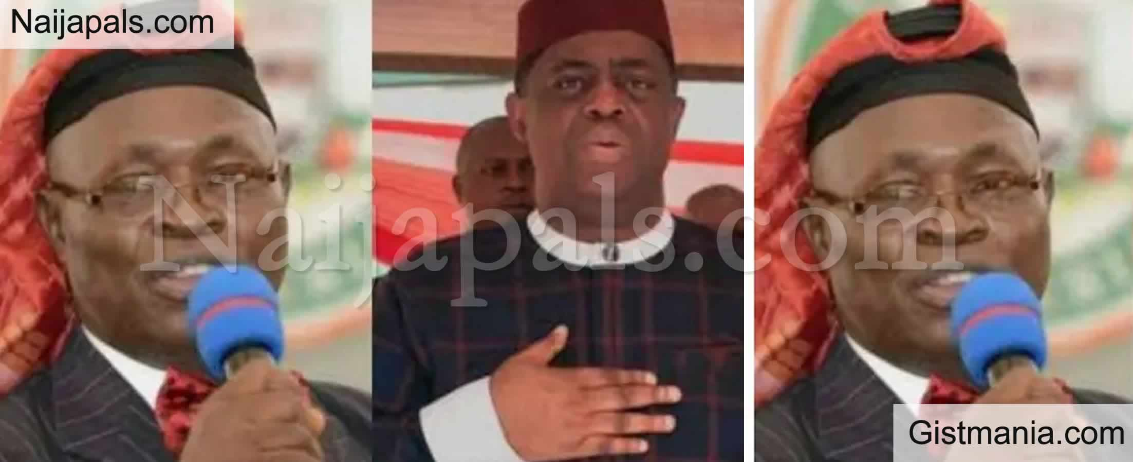 """<img alt='.' class='lazyload' data-src='https://img.gistmania.com/emot/comment.gif' /> <b>""""He Is Just Like His Father"""" -MURIC Slams Femi Fani-Kayode Over His Defection To APC</b>"""