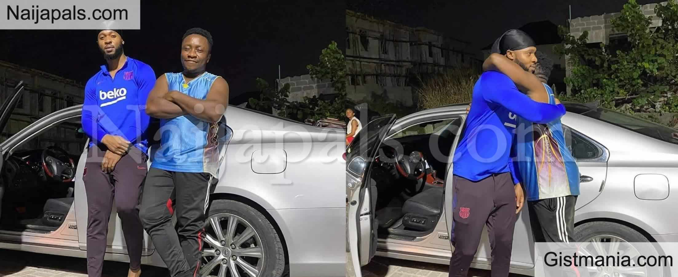 <img alt='.' class='lazyload' data-src='https://img.gistmania.com/emot/photo.png' /> Photos: <b>Singer Flavour Nabania Surprised His Drummer With Lexus ES 350</b>