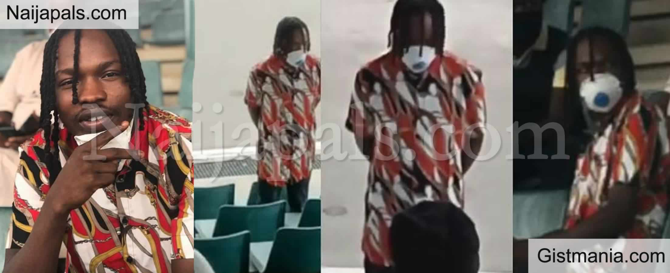 <img alt='.' class='lazyload' data-src='https://img.gistmania.com/emot/video.gif' /> <b>Here is Video of Naira Marley During His Appearance at The Abuja Mobile Court</b>