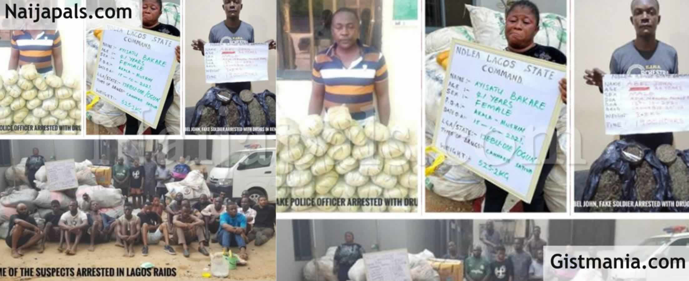 <img alt='.' class='lazyload' data-src='https://img.gistmania.com/emot/news.gif' /> <b>Soldier, Corps Member Among 663 Suspects Arrested As NDLEA Raids Notorious Drug Joints In Lagos, Other States</b>