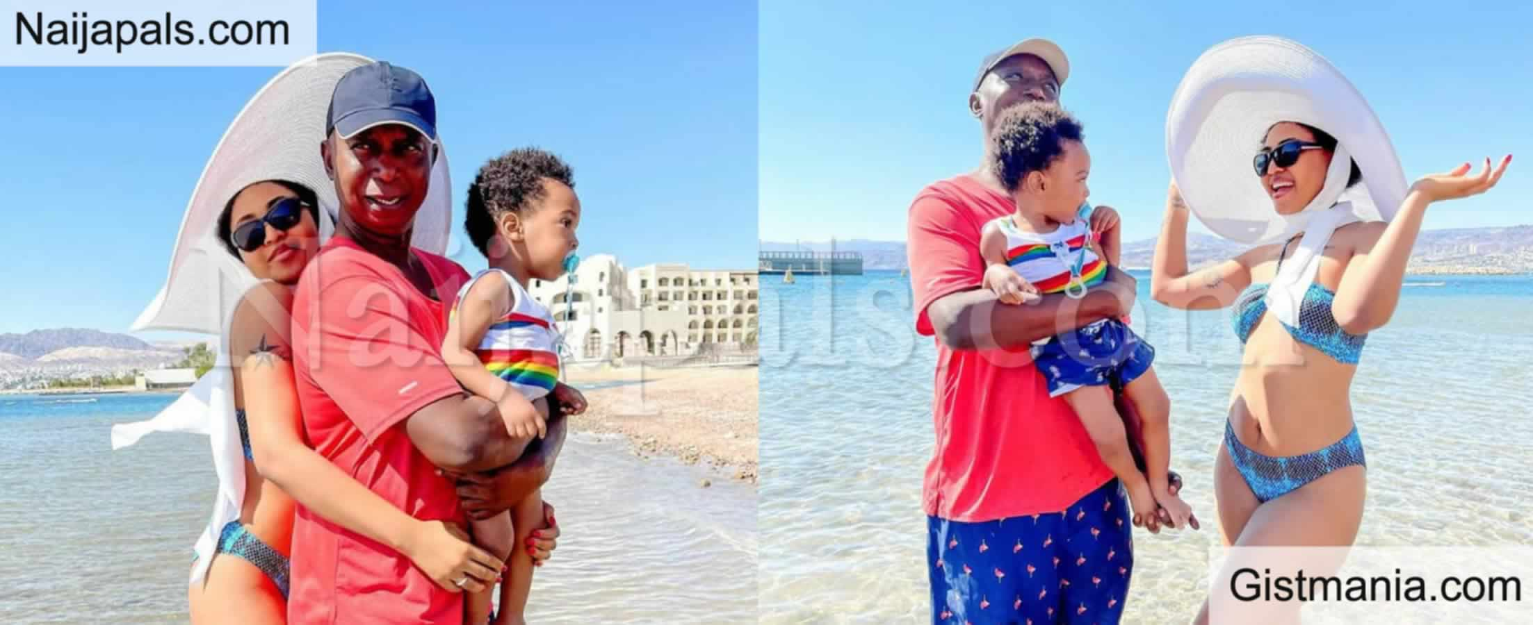<img alt='.' class='lazyload' data-src='https://img.gistmania.com/emot/photo.png' /> <b>Regina Daniels Shows Off Her Bikini Body While on Vacation With Ned Nwoko and Son</b>