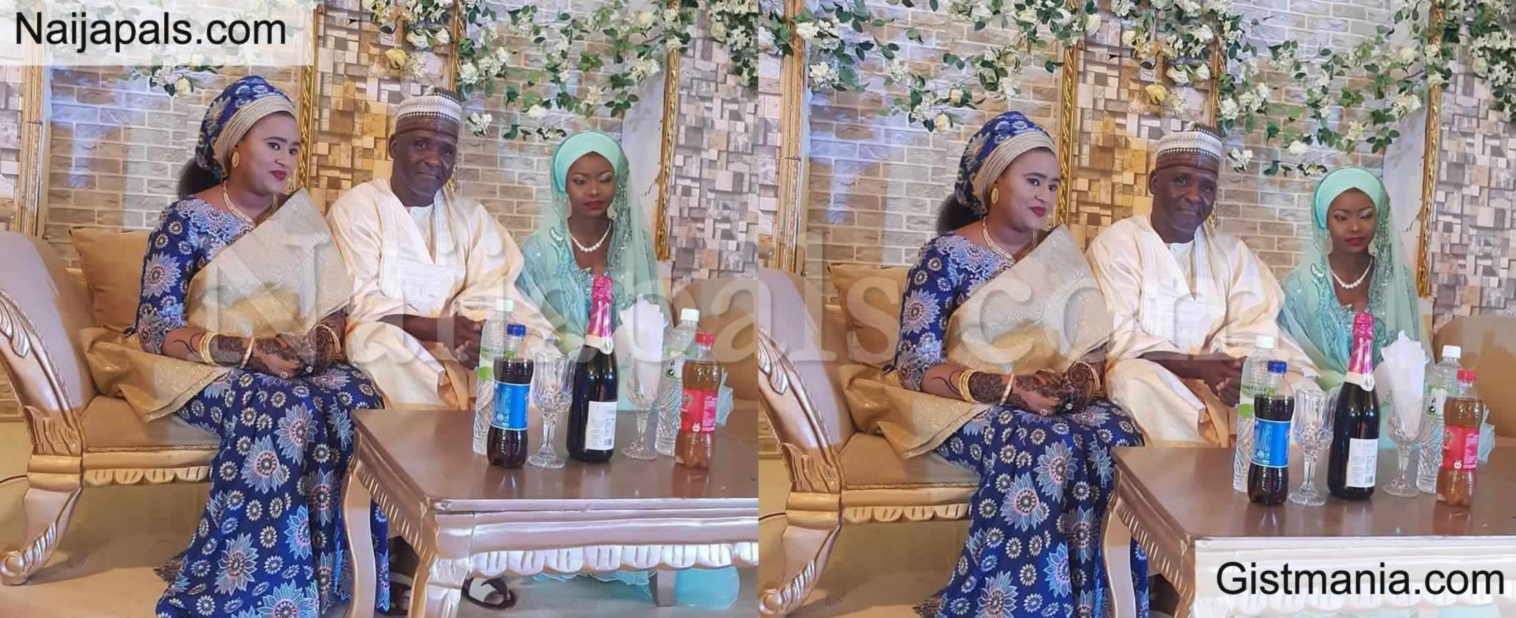 <img alt='.' class='lazyload' data-src='https://img.gistmania.com/emot/photo.png' /> <b>See How People Reacts as First Wife Outshine Her Husband's New Wife During Wedding</b>