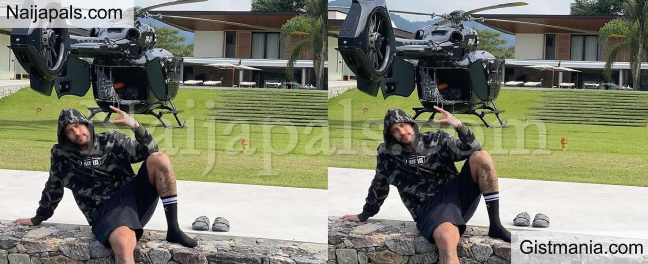 <img alt='.' class='lazyload' data-src='https://img.gistmania.com/emot/thumbs_up.gif' /><b> Neymar Shows Off His Customized N5.7bn Mercedes Helicopter</b> (Photo)