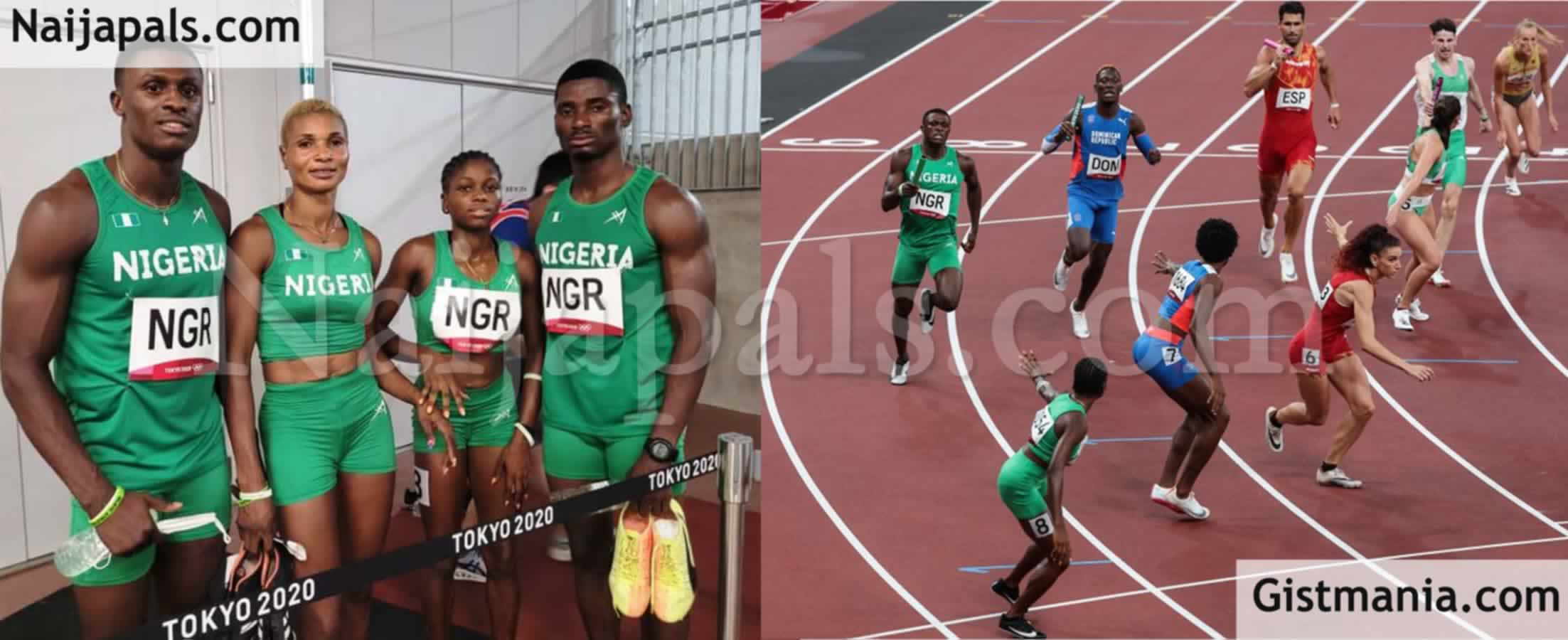 <img alt='.' class='lazyload' data-src='https://img.gistmania.com/emot/thumbs_up.gif' /> <b>Nigeria's Mixed 4x400m Quartet Leaves Tokyo With Heads High After Setting A New African Record</b>