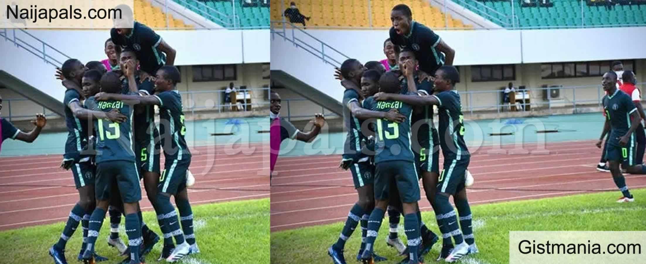 <img alt='.' class='lazyload' data-src='https://img.gistmania.com/emot/soccer.gif' /> <b>Nigeria U-17 Qualifies For WAFU Cup Final After Defeating Burkina Faso</b>