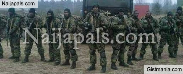 Photos of The Nigerian Army Undergoing Special Training in Russia To