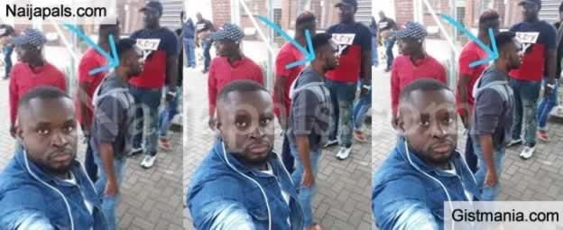 Face Of Nigerian man, Samuel Nkennaya Killed By Mob In South