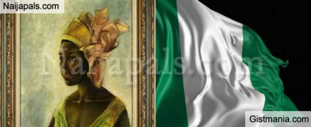 "Interesting! This Nigerian Piece Of Painting, ""Christine"" Sold For £1.1m In London"