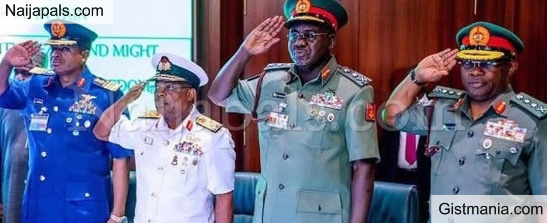 <img alt='.' class='lazyload' data-src='https://img.gistmania.com/emot/news.gif' /> BREAKING! <b>President Buhari Finally Sacks Buratai, Other Service Chiefs, Appoints Attahiru, Irab</b>