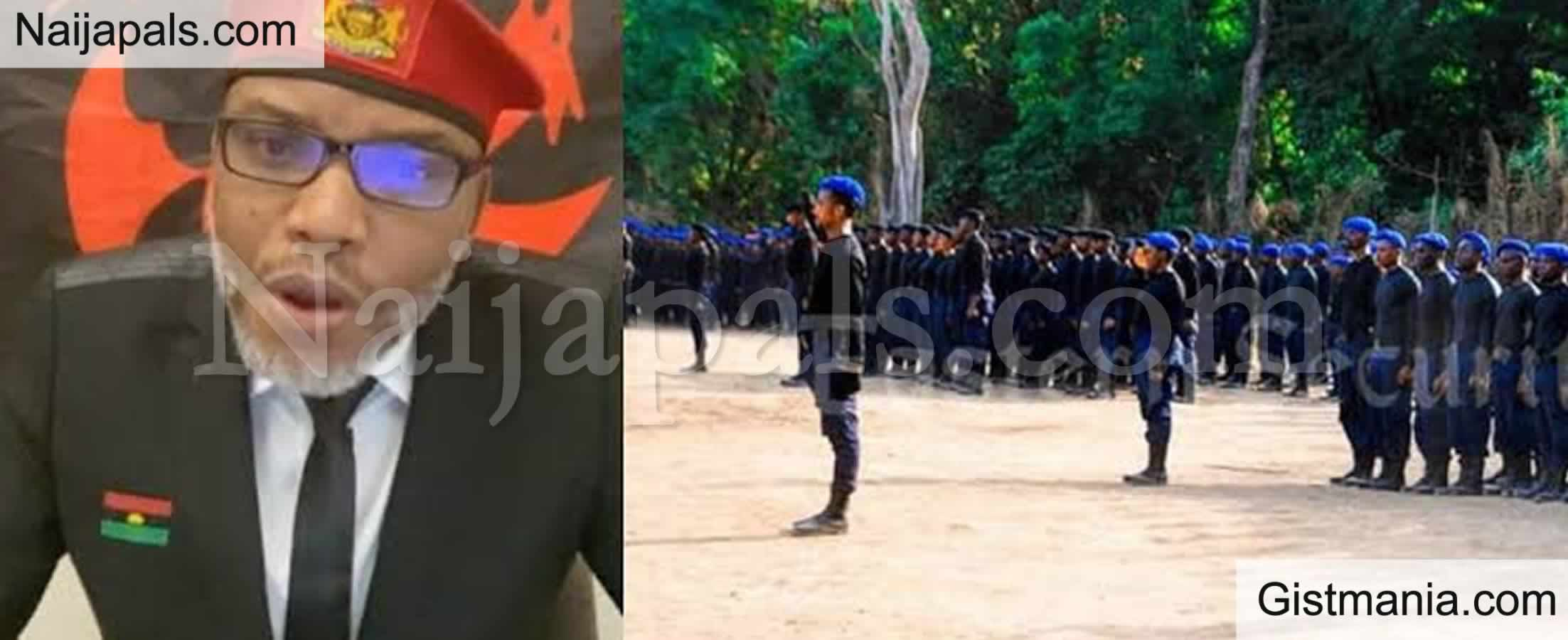 <img alt='.' class='lazyload' data-src='https://img.gistmania.com/emot/news.gif' /> <b>Military Reveals That Nigerian Soldiers Are Resigning To Join Nnamdi Kanu's Eastern Security Network</b>