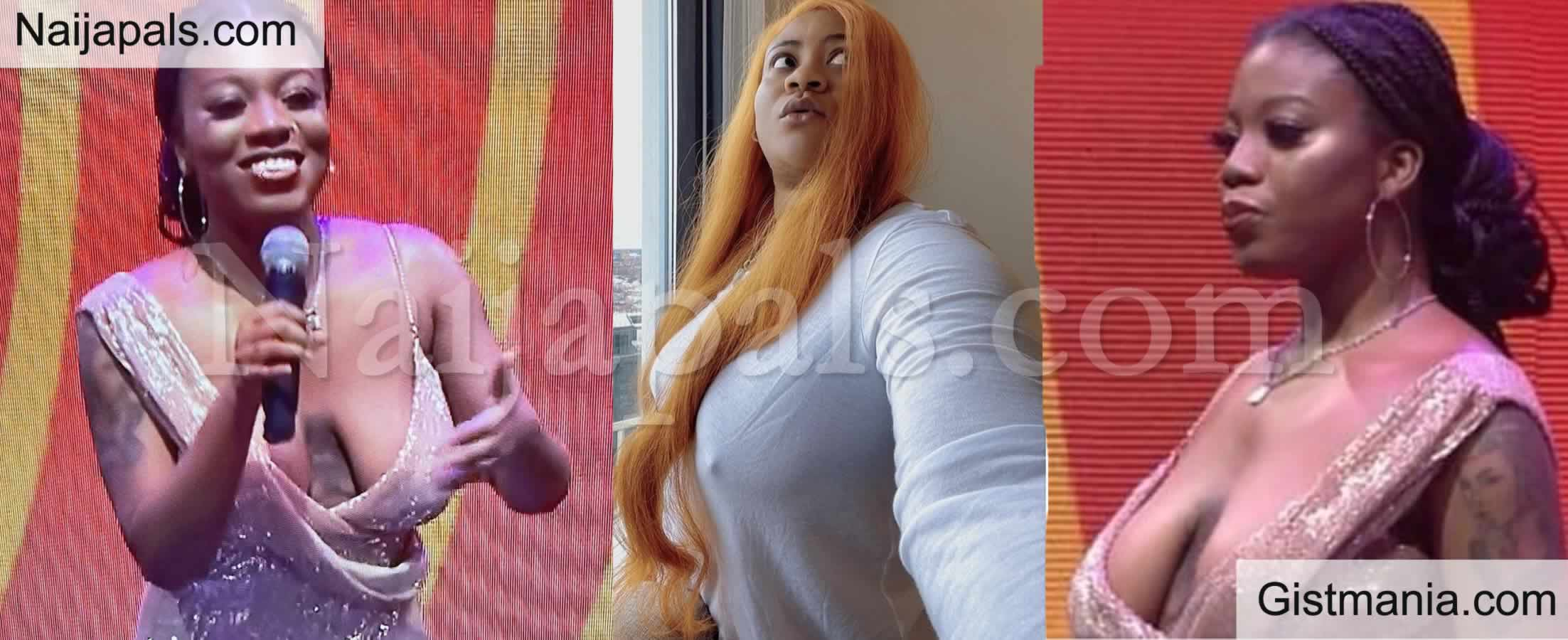 <img alt='.' class='lazyload' data-src='https://img.gistmania.com/emot/comment.gif' /> <b>Nkechi Blessing Goes Braless As She Reacts To Those Criticizing BBNaija's Angel Over Her B00bs</b>