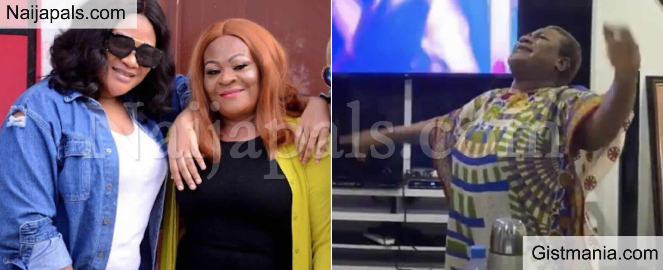 <img alt='.' class='lazyload' data-src='https://img.gistmania.com/emot/cry.gif' /><b> Popular Actress, Nkechi Blessing In Shock, Says Her Mother Died Of Stomach Upset</b>