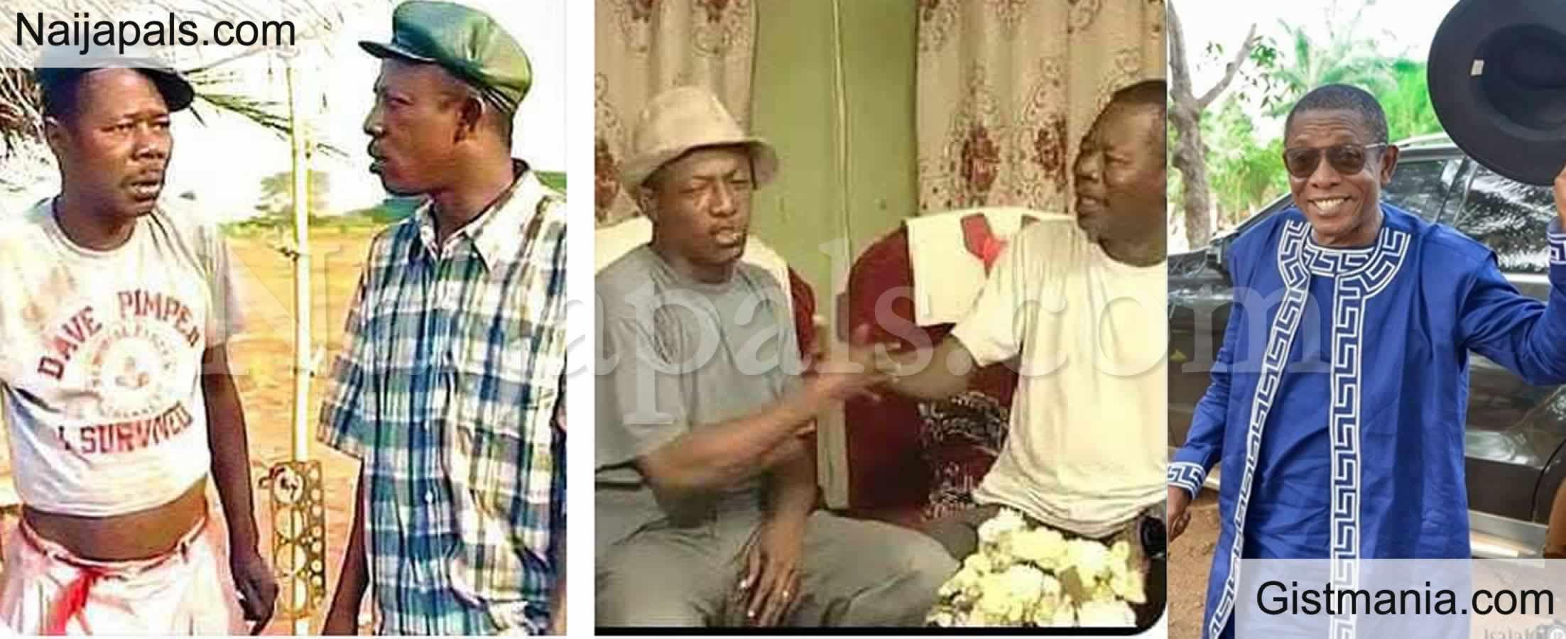 <img alt='.' class='lazyload' data-src='https://img.gistmania.com/emot/comment.gif' /> <b>Nigerians React As Veteran Actor, Nkem Owoh Remembers His Late Friend, Sam Loco Efe</b>