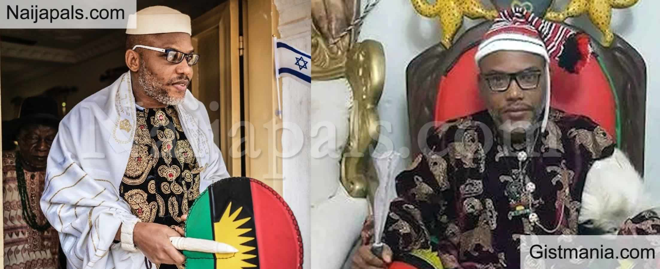 "<img alt='.' class='lazyload' data-src='https://img.gistmania.com/emot/comment.gif' /> <b>""Don't Touch Sunday Igboho"" – IPOB Leader, Nnamdi Kanu Warns DSS</b>"