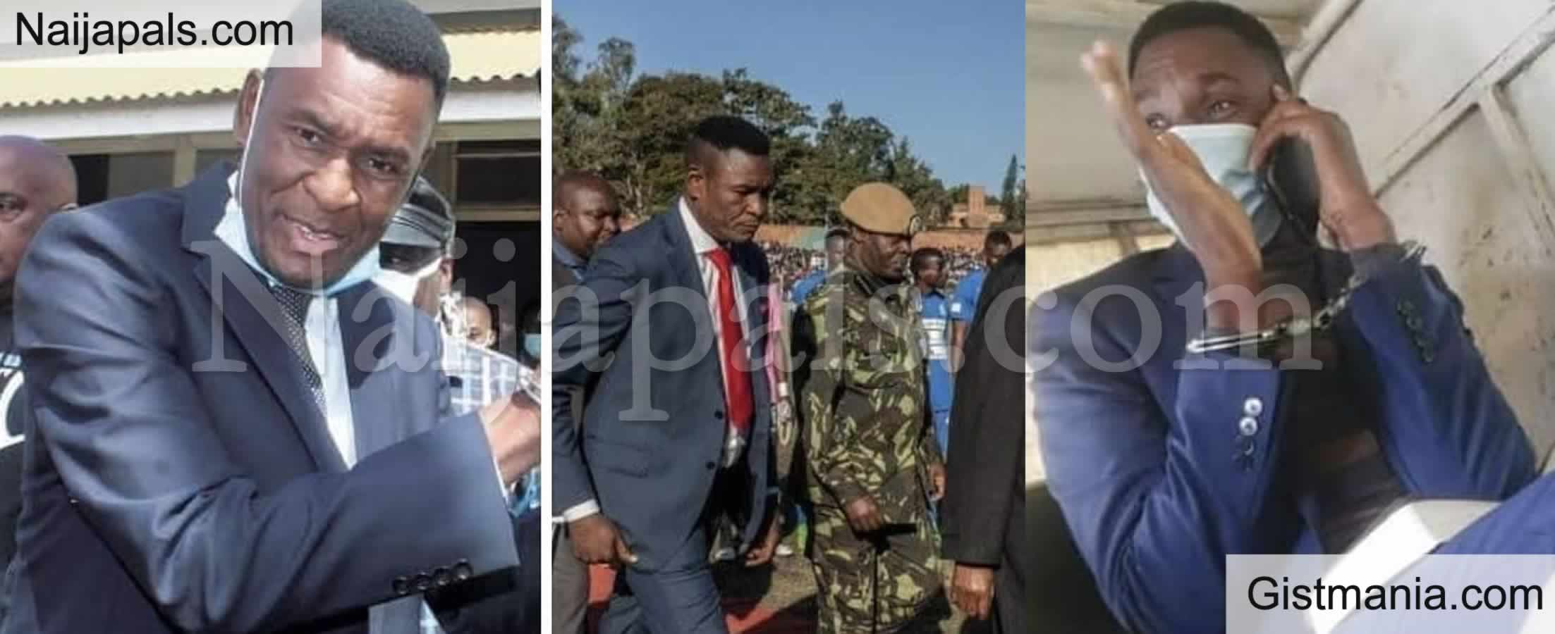 <img alt='.' class='lazyload' data-src='https://img.gistmania.com/emot/shocked.gif' /> EXPOSED! <b>How Malawi's Ex Presidential Bodyguard, Norman Chisale Amassed The Nation's Wealth to Himself</b>